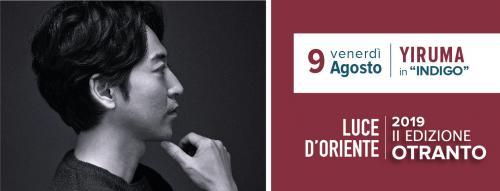 Yiruma Concert Indigo | Luce d'Oriente