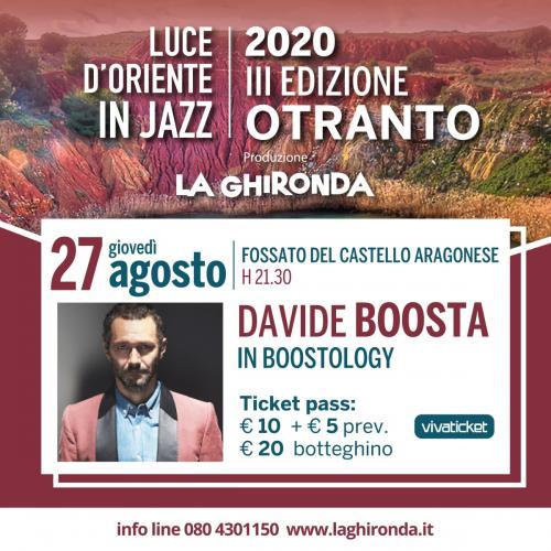 Davide Boosta Dileo in Boostology | Luce d'Oriente in Jazz